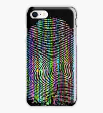 Digital Fingerprint iPhone Case/Skin