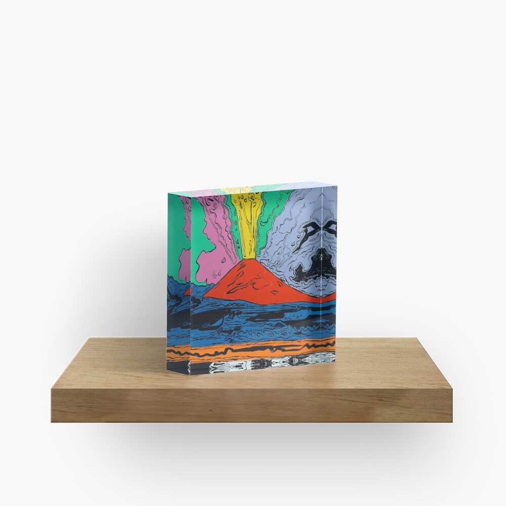 Vesuvius (HQ) Acrylic Block