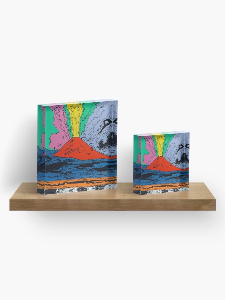 Alternate view of Vesuvius (HQ) Acrylic Block