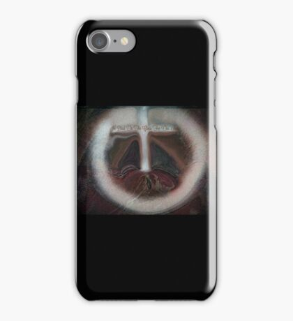 HE DIED ON THE CROSS FOR OUR SINS- abstract iPhone Case/Skin