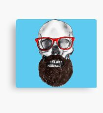 Death Of The Hipster Canvas Print