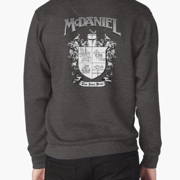 McDaniel family crest / heraldic shield / coat of arms Pullover Sweatshirt