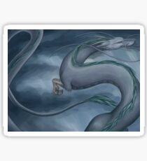 Haku the Dragon Sticker
