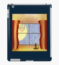 A Warm Winter Refuge - Dreamcatcher and Candle Flame iPad Case/Skin