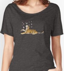 Paper Crane Tiger Women's Relaxed Fit T-Shirt