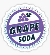 Up Movie Grape Soda bottle cap Sticker