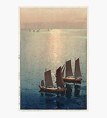 Hiroshi Yoshida - Hikaru Umi Photographic Print