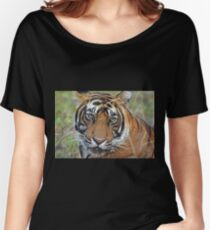 Tiger Portrait Women's Relaxed Fit T-Shirt