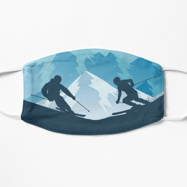 Skiing Winter Sport on Demand Sale Design Mask