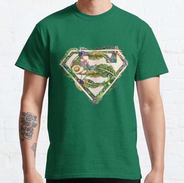 Super Powered By Plants Classic T-Shirt