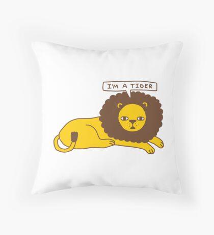 Lyin' Throw Pillow