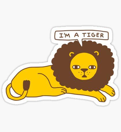 Lyin' Glossy Sticker