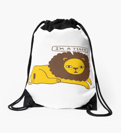 Lyin' Drawstring Bag