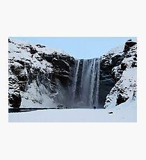 Skogafoss, Skogar, Iceland Photographic Print