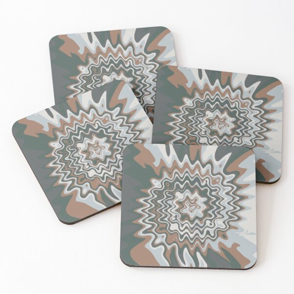 Marble Wave Coasters Redbubble