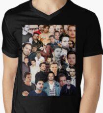 Sebastian Stan Collage  Men's V-Neck T-Shirt