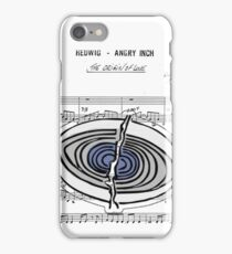 Origin of Love (2) ~ Hedwig and the Angry Inch ~ Sheet Music Collection iPhone Case/Skin