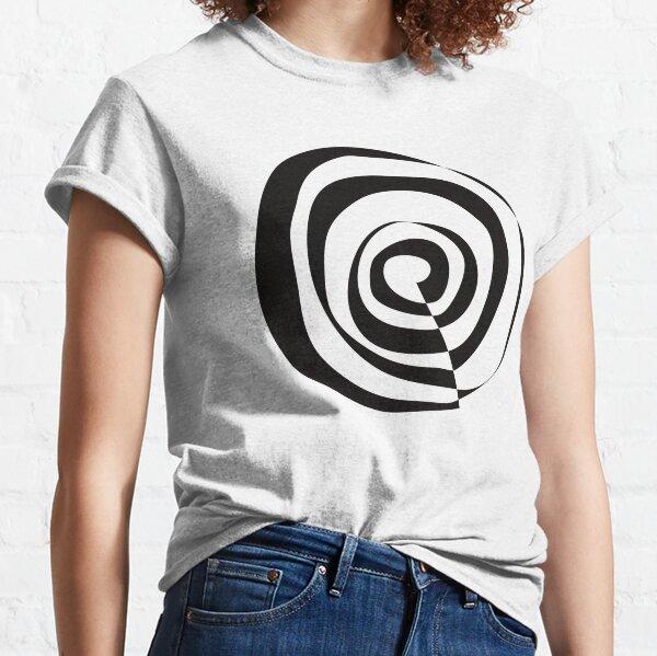 Spirale schwarz Classic T-Shirt