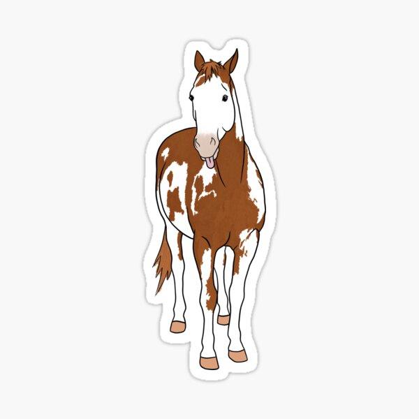 Trouble - Paint Horse Sticker