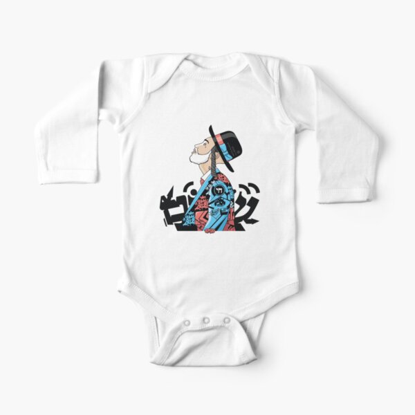 Shir Lamaalot | Modern and original jewish art Long Sleeve Baby One-Piece