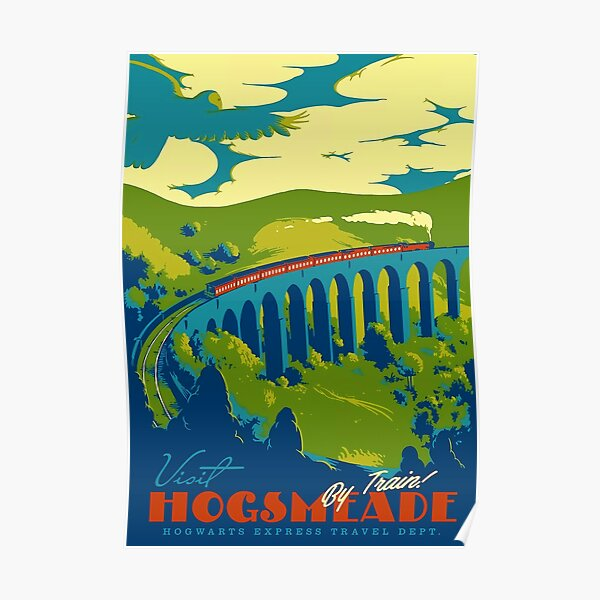Visit Hogsmeade Poster