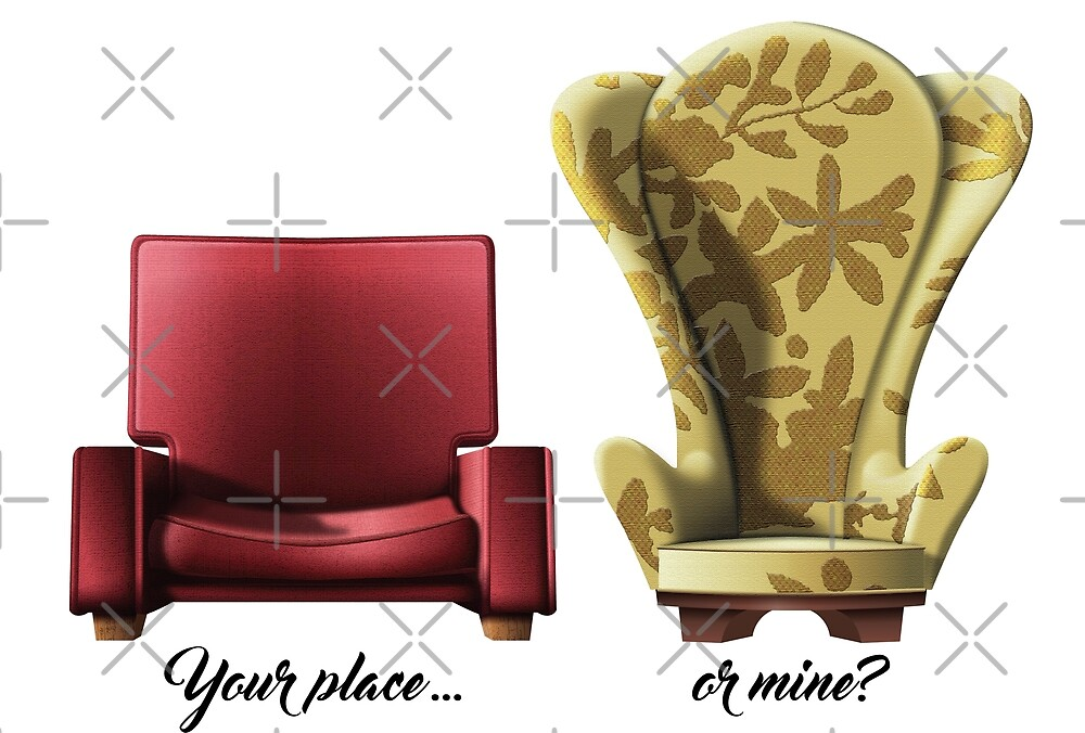 u0026quot;Carl and Ellie chairs from Up Movieu0026quot; by GraficBakeHouse ...