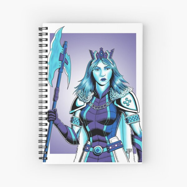 Frost Queen by Brent Florica Spiral Notebook