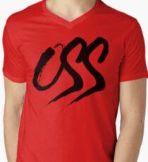 Oss - Brush script Men's V-Neck T-Shirt