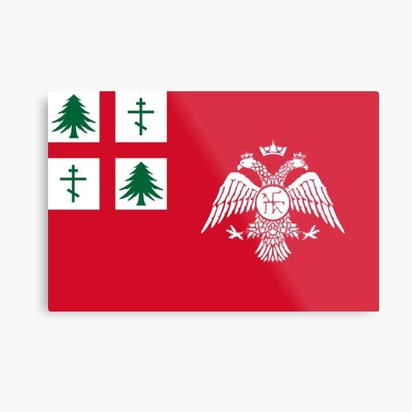 Orthodox New England Flag Metal Print