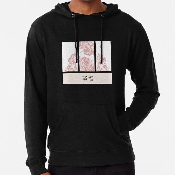 Conception d'anime de fleur de cerisier Sweat à capuche léger