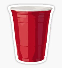 Red Solo Cup Party Sticker