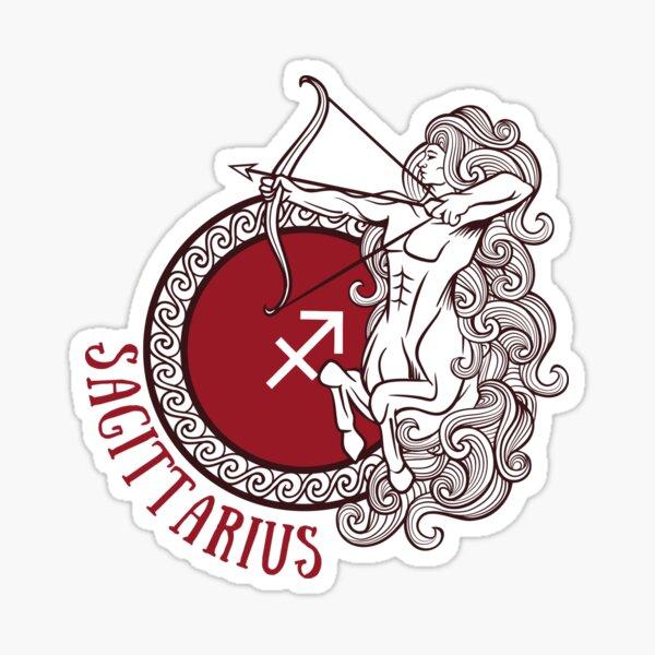 Sagittarius Centaur Astrology Sticker