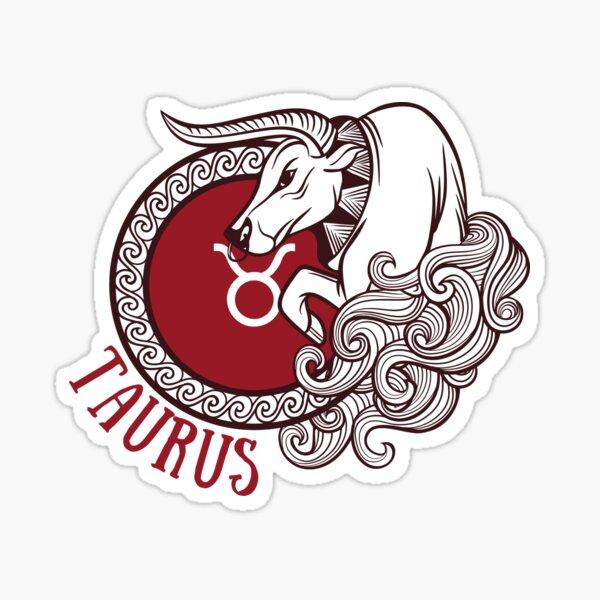 Taurus Bull Astrology Sticker