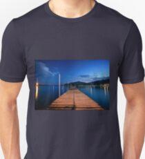 Wooden jetty in Gocek Unisex T-Shirt