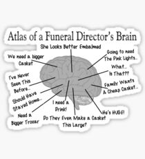 Funny Mortuary Quotes Stickers Redbubble