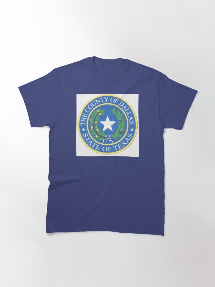 Alternate view of Dallas County Employee Store Classic T-Shirt