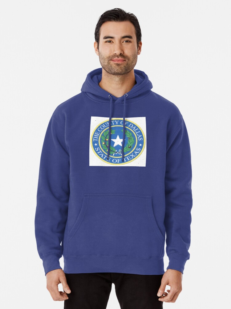 Alternate view of Dallas County Employee Store Pullover Hoodie