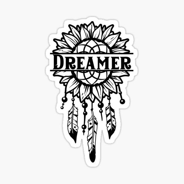 """Dreamcatcher """"Dreamer"""" Sticker"""