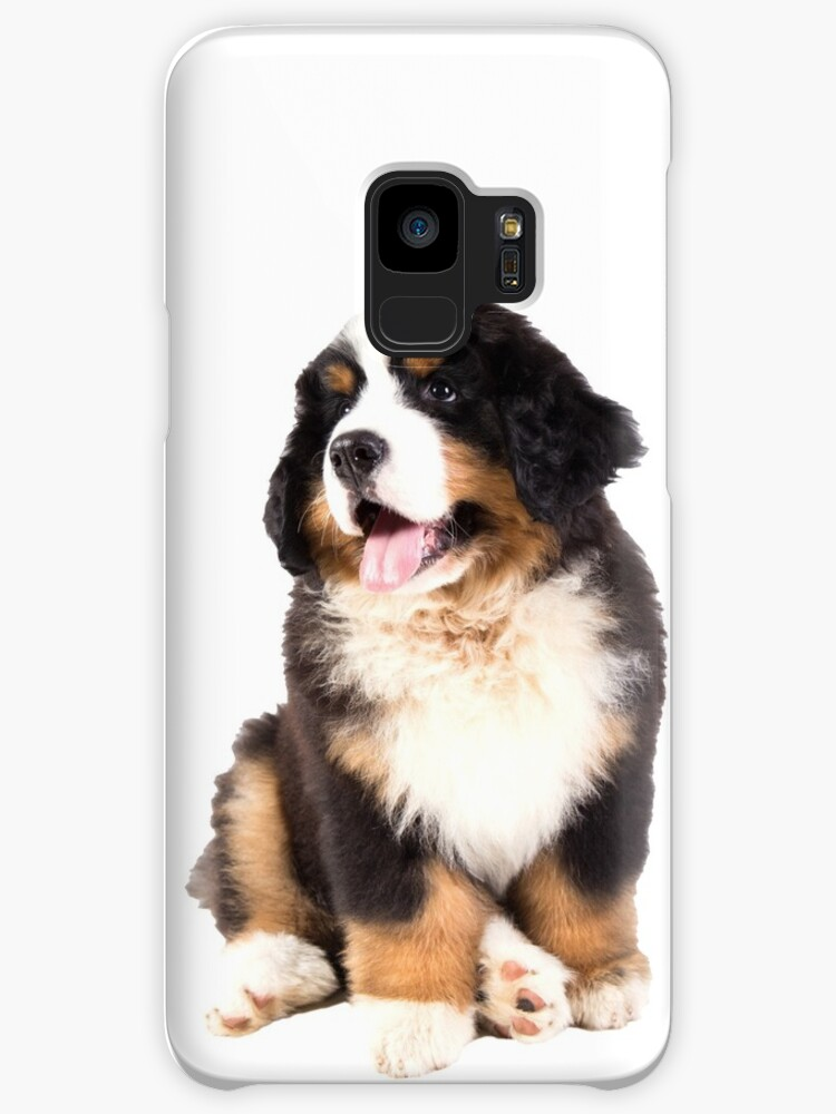 Bernese Mountain Dog Puppy Cases Skins For Samsung Galaxy By