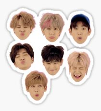 GOT7 Just Right Faces Sticker