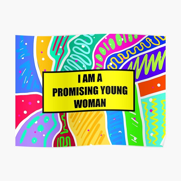 im a promising young woman Poster