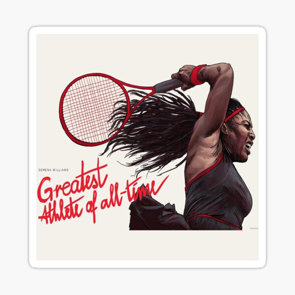 Tennis superstar's latest Style by Serena collection Sticker