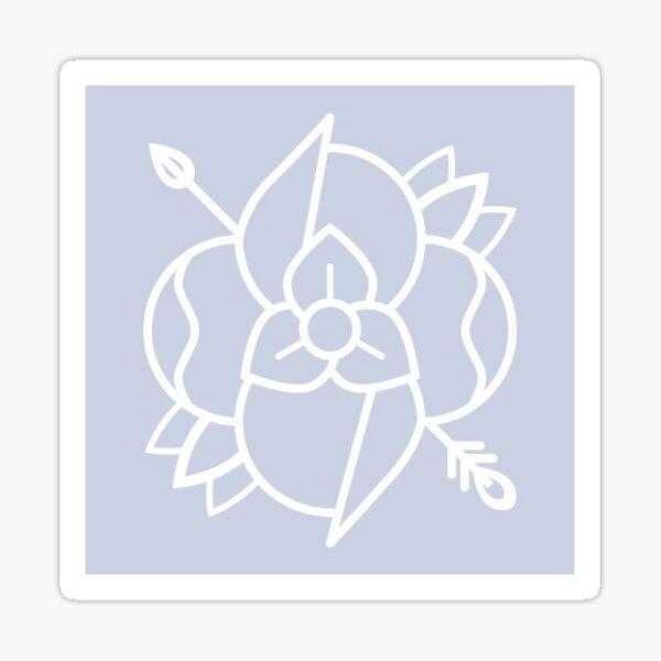 la dispute logo Sticker