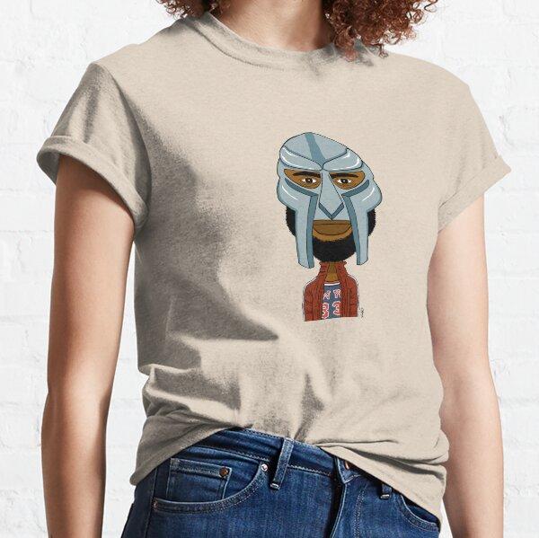 Portrait dessiné de Doom. T-shirt classique