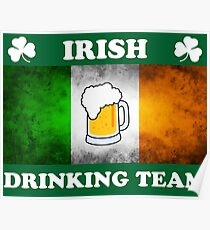 Irish Drinking Team (A) Poster