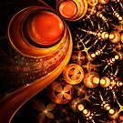 Royal - Abstract Fractal Artwork by EliVokounova