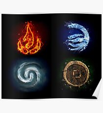 All element Avatar Poster