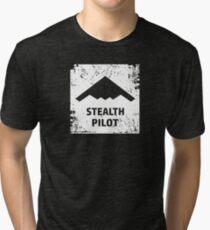 Stealth Pilot Tri-blend T-Shirt