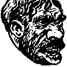 Creepy Caveman Head  by Megatrip