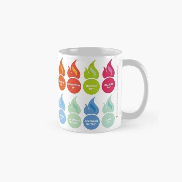 Metal Ion Flame Test Colours Classic Mug